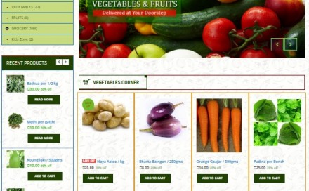 Veggy Stow Vegetable Shopping Site
