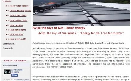 AVIKA Energy System