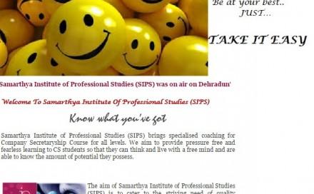 Samarthya Institute of Professional Studies