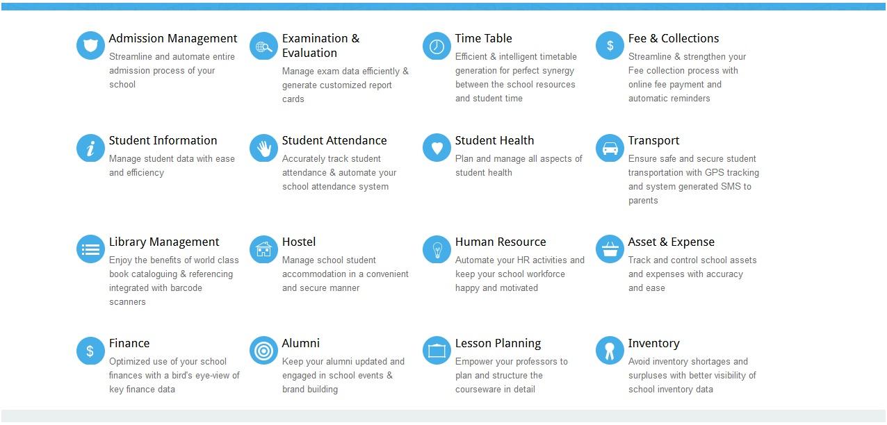 school erp module